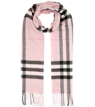 scarf pink