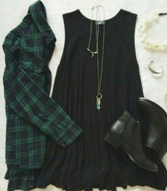blouse checkered green blouse checkered blouse