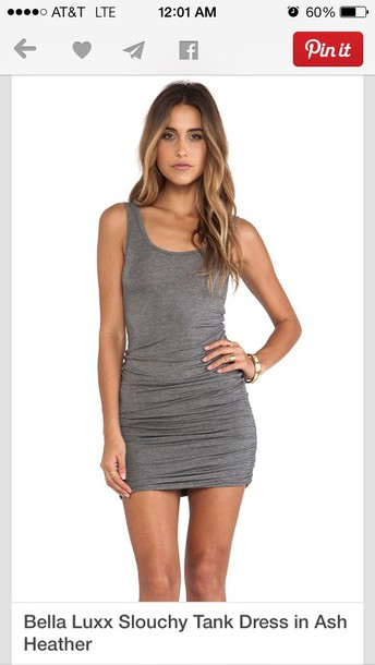 dress short tank dress