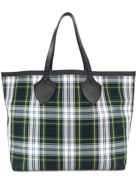 Burberry women leather cotton bag
