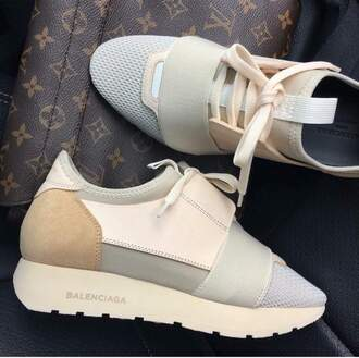 shoes balenciaga sneakers nude sneakers