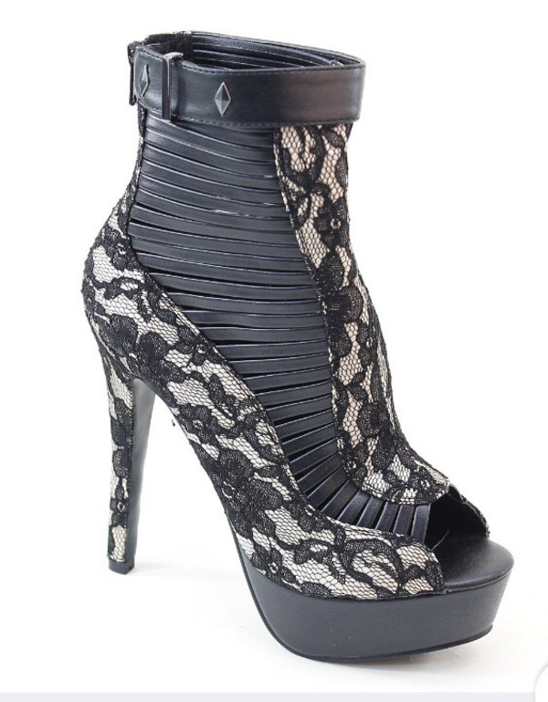 shoes black grey floral heels peep toe heels high heel less platform perp toe shoes platform shoes ankle boots high heels nordstrom nieman marcus lace leather peep toe pumps pumps sandals high heel sandals booties boots brand zulily ankle strap