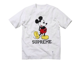 t-shirt black red yellow supreme supreme t-shirt
