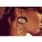 Eyes long earrings brinco boucle d'oreille dangle | wow awesome world