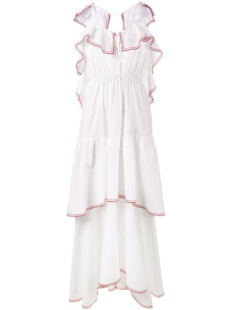 Rosie Assoulin dress women white cotton