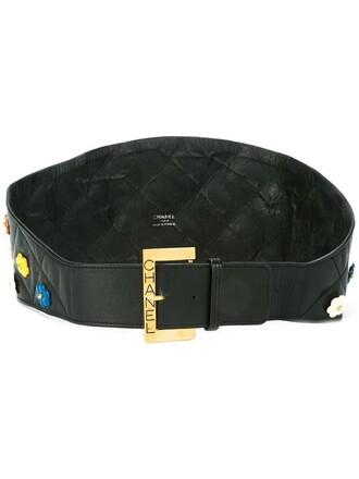 women belt waist belt black