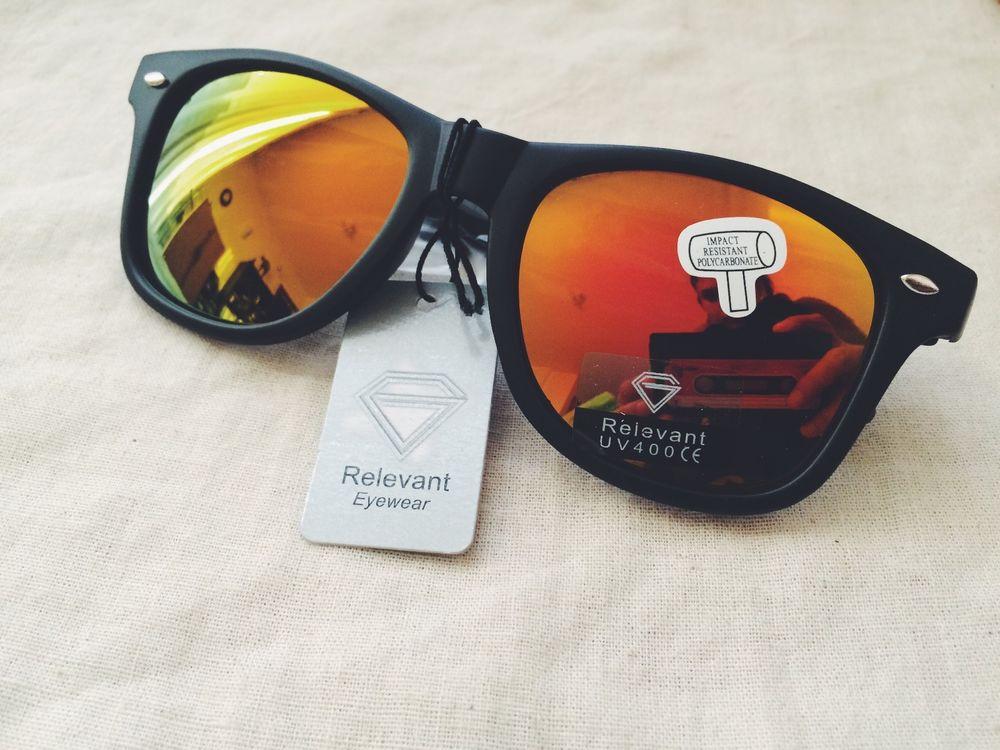 Classic mirrored wayfarer sunglasses cool shades uv400 mens women unisex