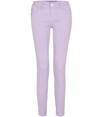 Lilac Skinny Jeans