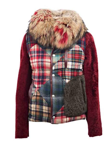 Night Market coat fur red