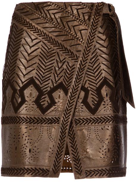 Nk skirt leather skirt women leather