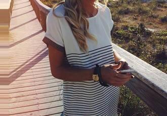 dress whte dress stripes blue white clothes dress stripes white black summer dress casual helpmefindthis helpmefindthisplease dress stripes black white striped dress
