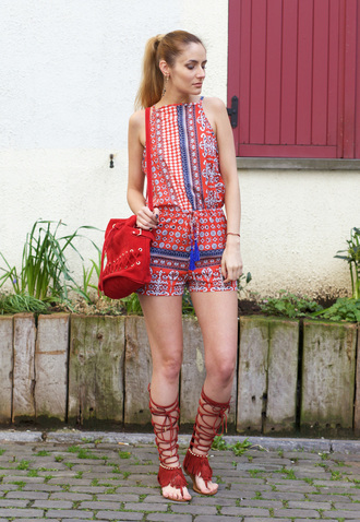 from brussels with love blogger romper shoes bag jewels