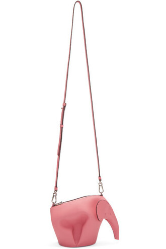 pink mini elephant bag