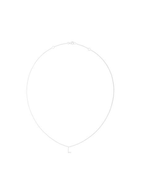 Alinka women necklace diamond necklace gold white grey metallic jewels