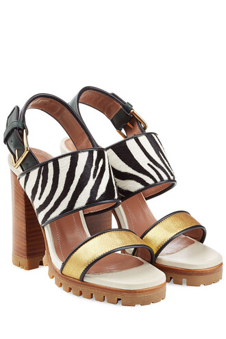 hair sandals leather sandals leather multicolor shoes