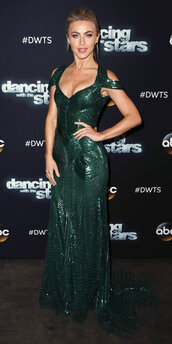 dress,green dress,green,maxi dress,gown,prom dress,julianne hough,sequins,sequin dress