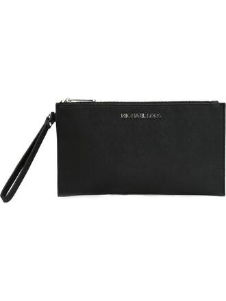 women clutch pouch black bag