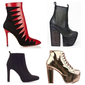shoes jeffrey campbell lita zara winter boots favorite