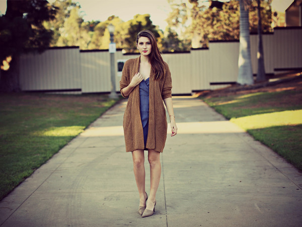 these days blogger cardigan camel cardigan camel blue dress dress pumps pointed toe pumps high heel pumps