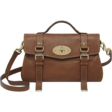 MULBERRY - Alexa buffalo leather satchel | Selfridges.com
