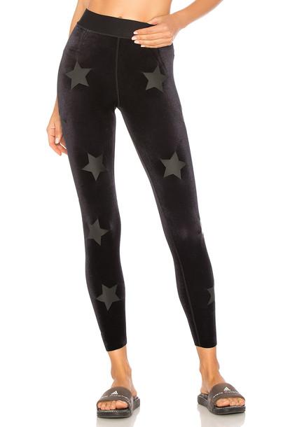 ULTRACOR velvet black pants