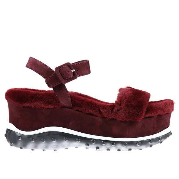 Miu Miu shoes burgundy