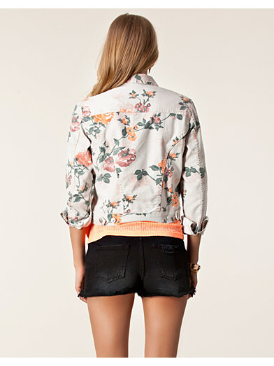 Isa Flower Jacket - Modström - Patterned - Jackets And Coats - Clothing - Women - Nelly.com