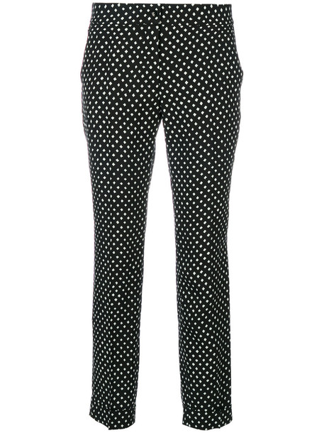 ETRO cropped women black pants