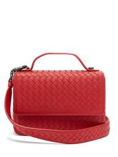 satchel,leather,red,bag