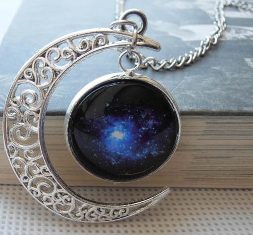 Galaxy Cosmic Star Universe Nebula Charm Pendant