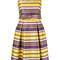 P.a.r.o.s.h. - paradise dress - women - cotton/polyester - m, yellow/orange, cotton/polyester