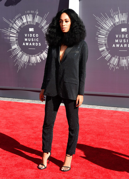 pants vma suit solange knowles jacket