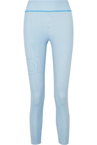 Fendi leggings blue pants