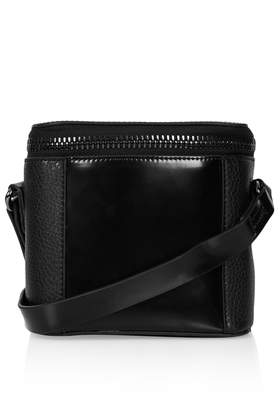 Mini Chunky Zip Crossbody Bag - Cross Body Bags - Bags & Wallets - Bags & Accessories- Topshop USA