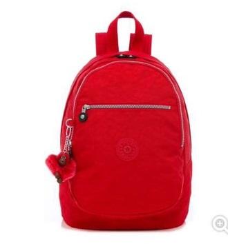 bag a red kipling bookbag for cheap