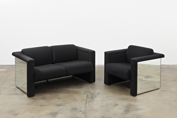 home accessory please!! exact! home decor couch chair black sofa love seat mirror