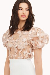 top,lace,blush pink