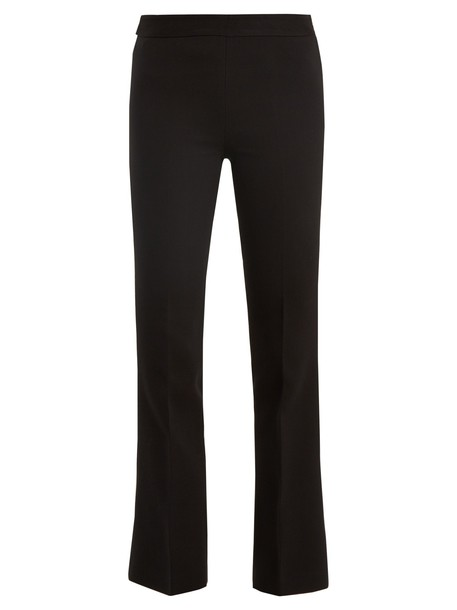 GIAMBATTISTA VALLI flare black pants