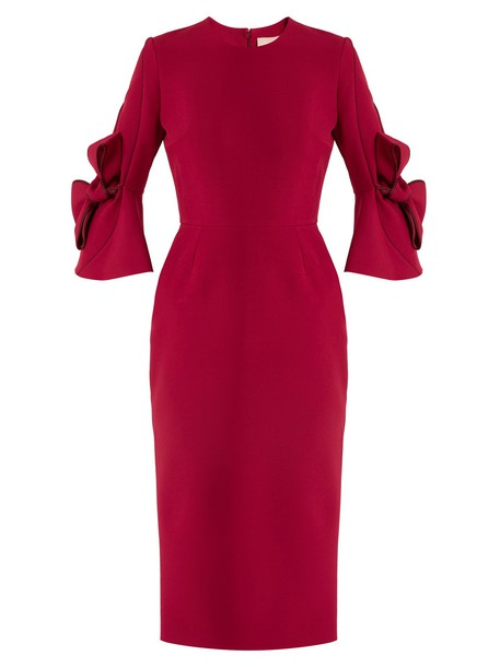 Roksanda dress bow red