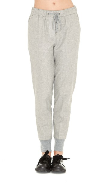 light grey pants