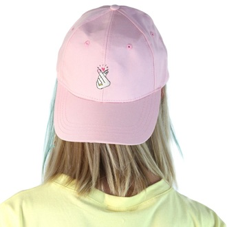 hat cap pink sporty cool summer teenagers cute boogzel