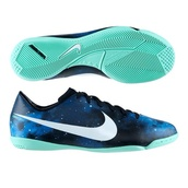 shoes,soccer shoes,indoor,girly pretty,nike soccer cleats,soccer cleats,soccer indoor shoes,galaxy print,teal,nike