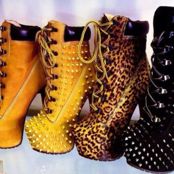 shoes timberland heels