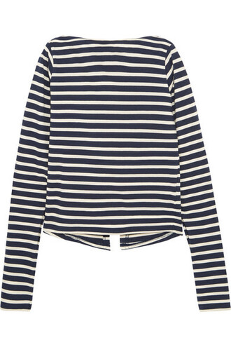 stripes top striped top long sleeves