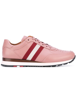 women sneakers lace leather cotton purple pink shoes