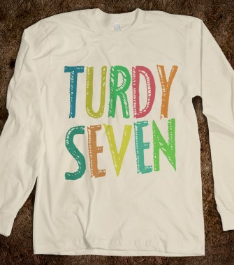 Turdy Seven One Direction Apparel Skreened T Shirts