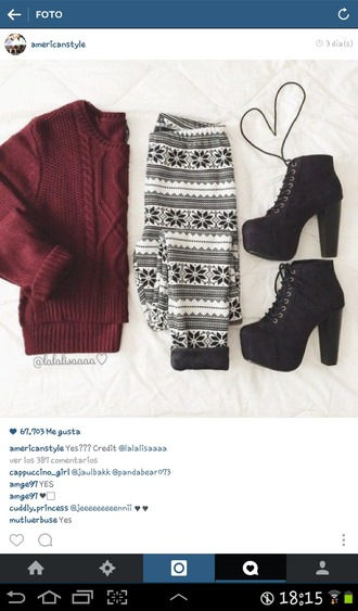 sweater burgundy knitted sweater burgundy sweater cozy sweather