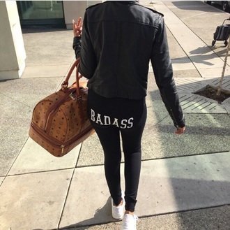 leggings black jeans black pants summer spring fall pants outfit casual pretty hot girly fashion style trendy funny hat jacket bag