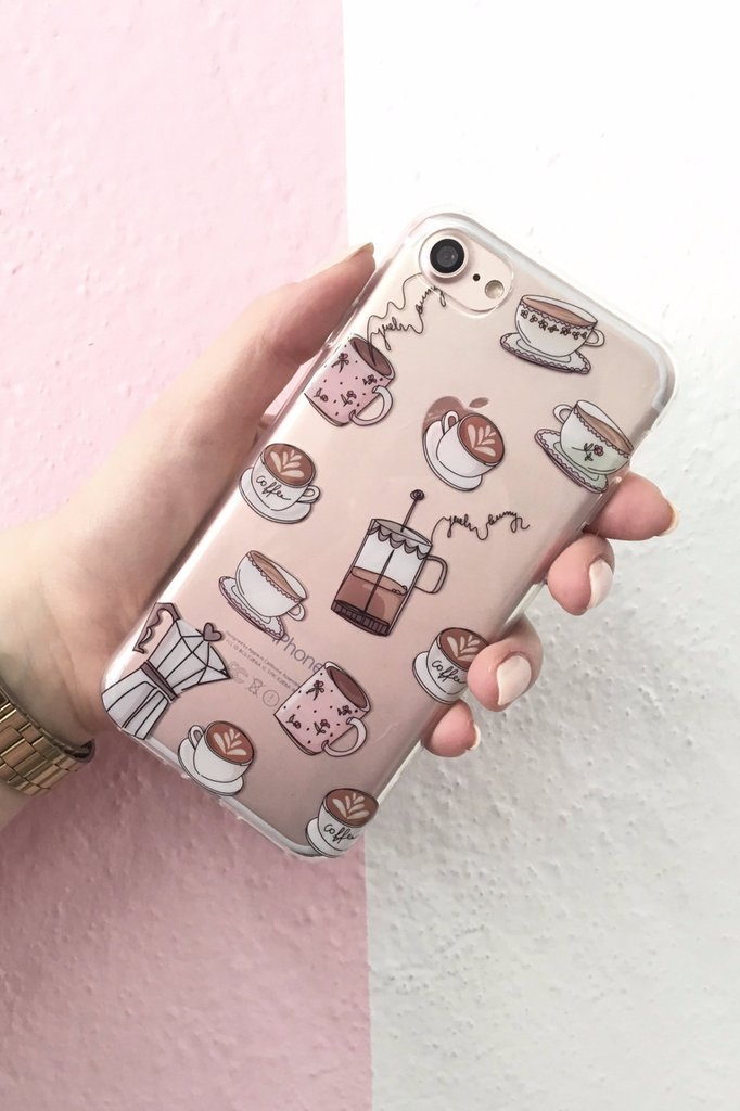 iPhone case - Coffee