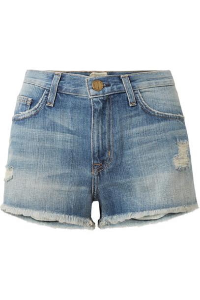 Current/Elliott shorts denim shorts distressed denim shorts denim boyfriend